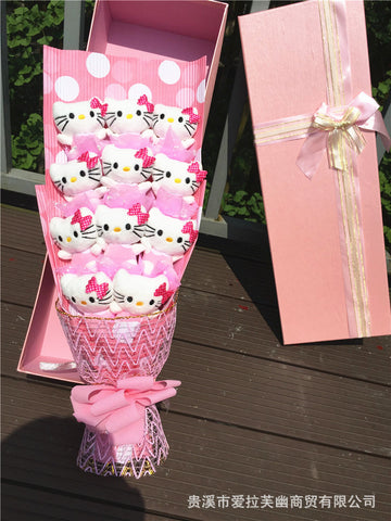 11 Hello Kitty bouquet Valentine Graduation gifts