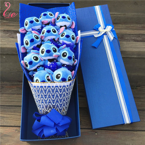 11 stand Stitch bouquet Valentine Graduation gifts