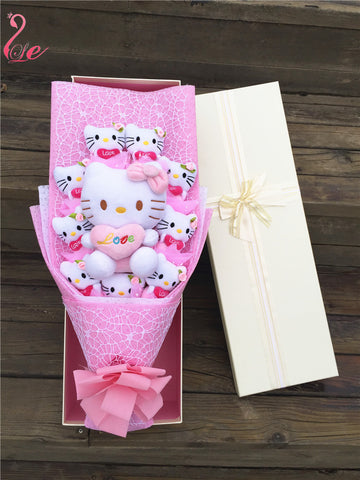 10 Hello Kitty bouquet Valentine Graduation gifts