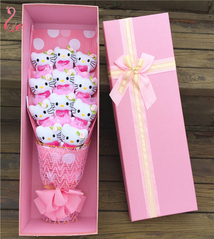 11 Hello Kitty with love bouquet Valentine Graduation gifts