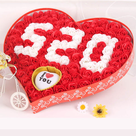 520 Soap Rose box VALENTINES GIFT