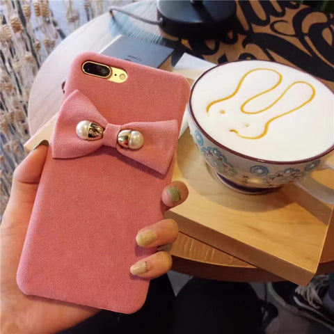 Bowknot iphone case