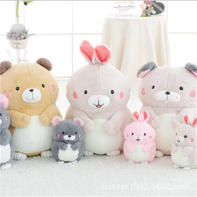 30 cm bear rabbit Hamster cute doll plush toy