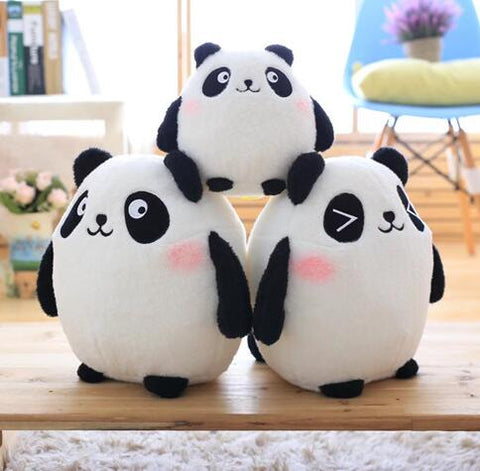 30cm Cartoon panda plush toy