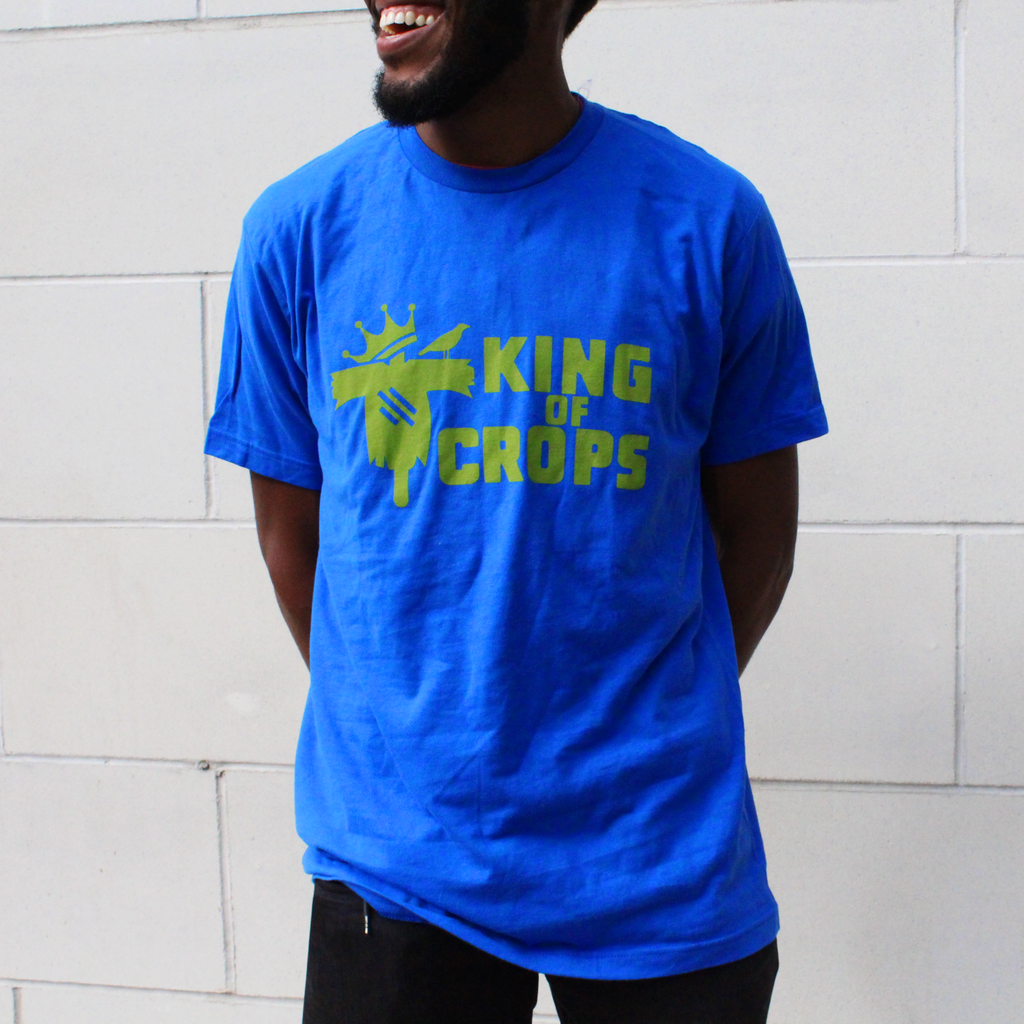 Blue King of Crops T-Shirt