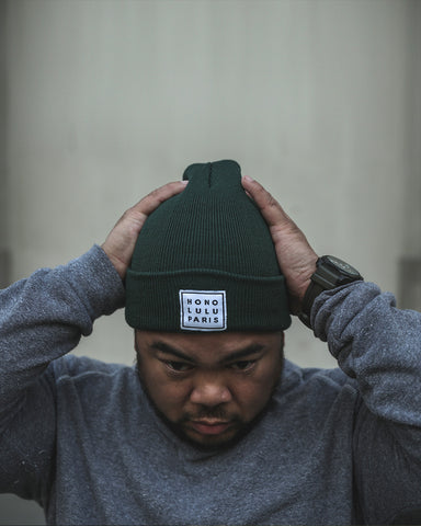 HP Forest Green Beanie
