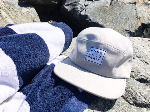 Malibu - Grey 5 panel cap ON SALE!