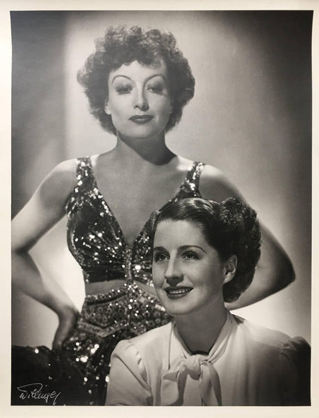 "Laszlo Willinger ""Joan Crawford and Norma Shearer"""