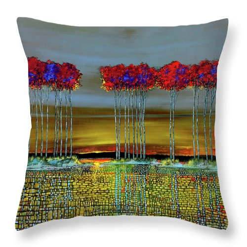 Distant Memory - Throw Pillow