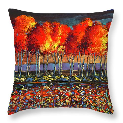 Emotions Of Motion - Throw Pillow
