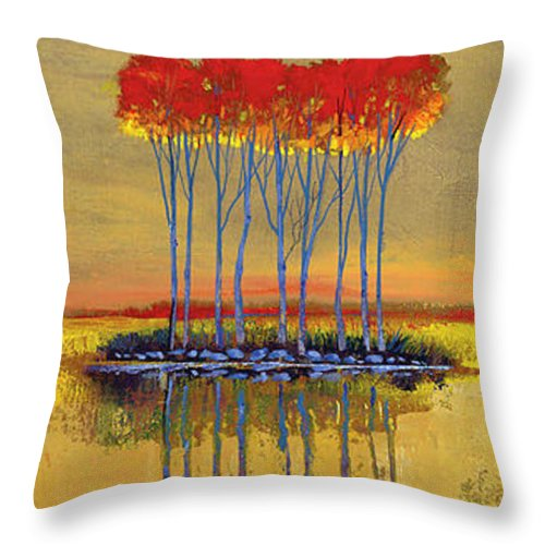 Faithful Trinity - Throw Pillow