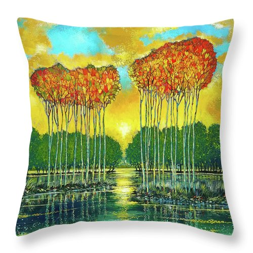 Heart's Content - Throw Pillow