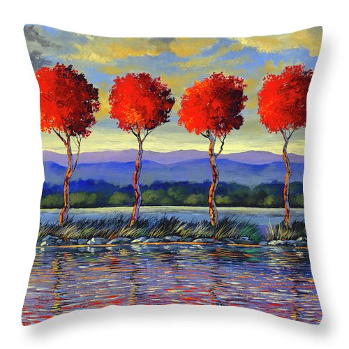 High Five - Throw Pillow
