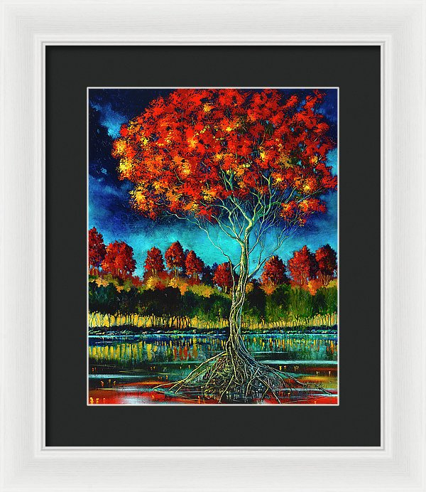 Living Free - Framed Print