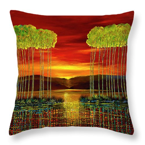 Mutual Understanding - Throw Pillow