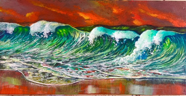 Captivated Tide  20x10
