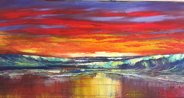 Evening Anticipation  10x20