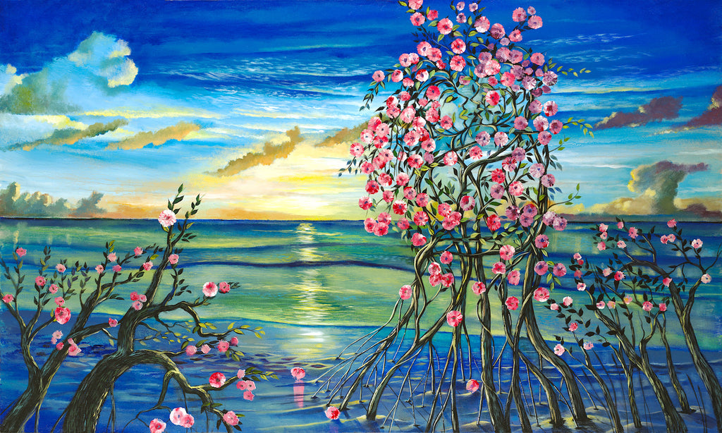 Grace Bay Love  36x60