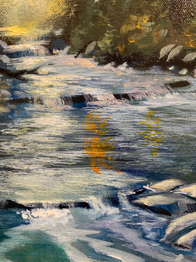 Rapids In No Rush 24x36