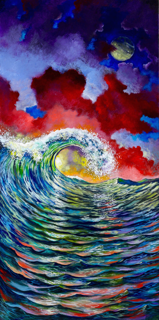 Kaleidoscope Tide by Ford Smith is an original seascape painting