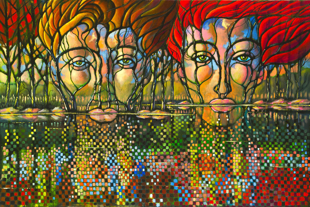 """Like Minds"" Original painting by Ford Smith"