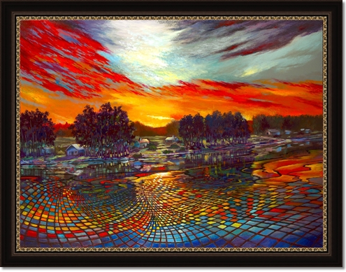 Sundown Montage 36x48