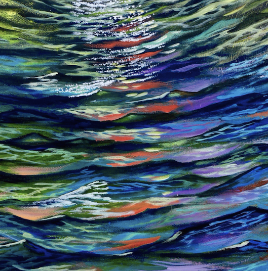 Kaleidoscope Tide 48x24