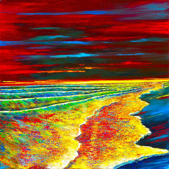 Waves of Passion   44 x 44
