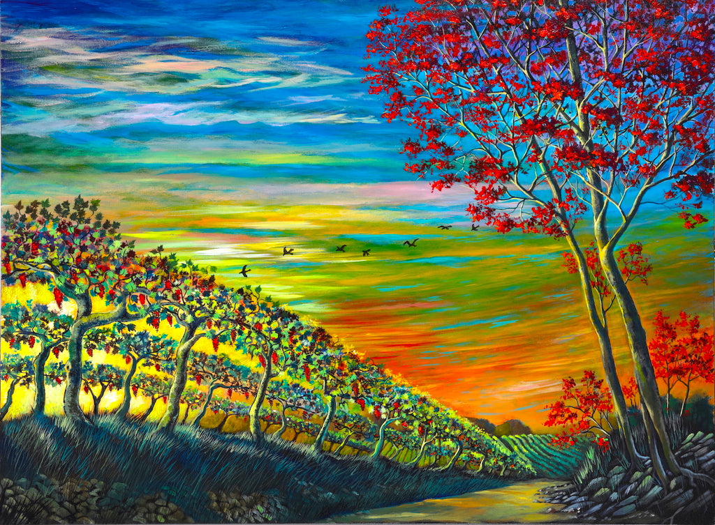 Wine Flight 36x48