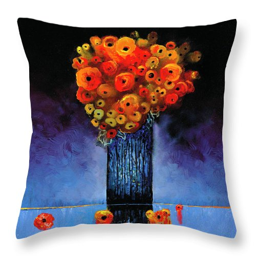 Above A Whisper - Throw Pillow