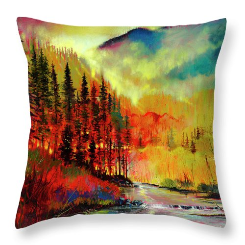 Affinity Of Dawn - Throw Pillow