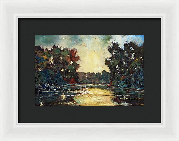 Calming Influence - Framed Print