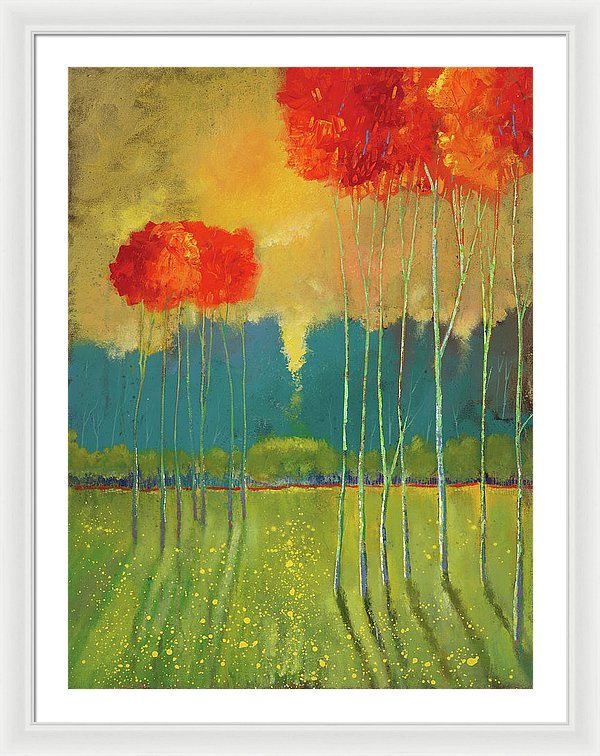 Carefree Summer - Framed Print