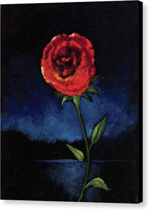 Casting Thorns Aside - Canvas Print