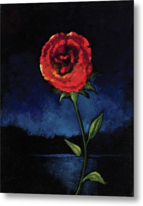 Casting Thorns Aside - Metal Print
