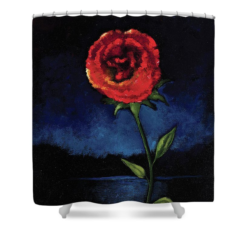 Casting Thorns Aside - Shower Curtain