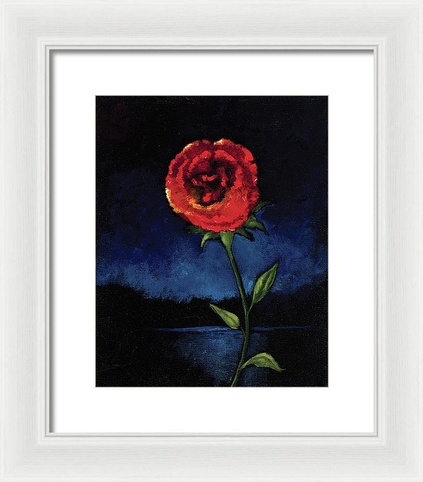 Casting Thorns Aside - Framed Print