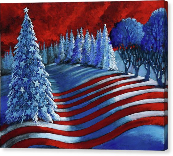 Christmas Glory - Canvas Print