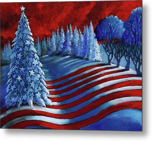 Christmas Glory - Metal Print