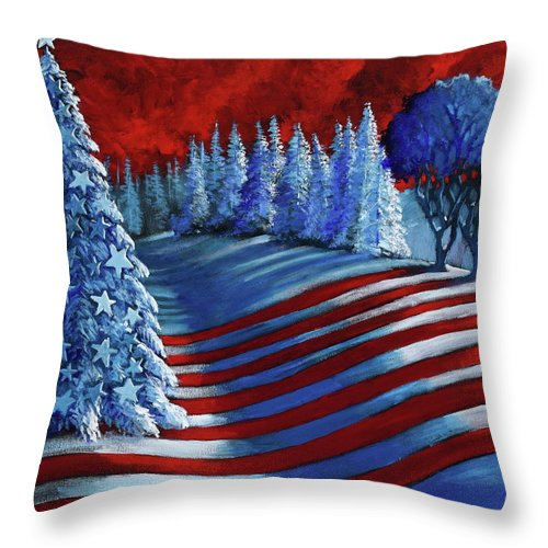 Christmas Glory - Throw Pillow