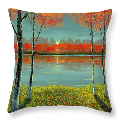 Divine Guidance - Throw Pillow