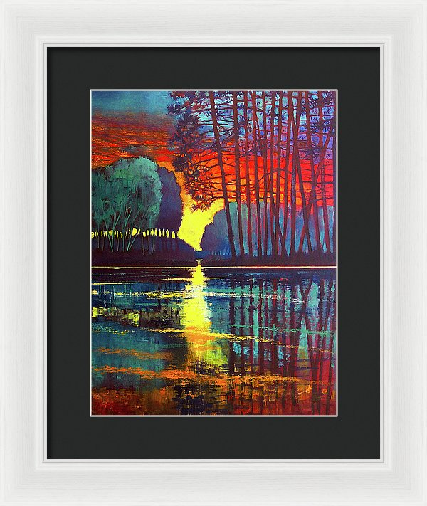 Drifting Thoughts - Framed Print