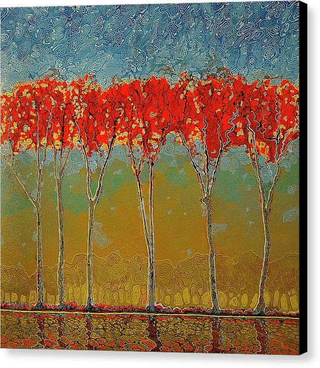 Electric Fall - Canvas Print