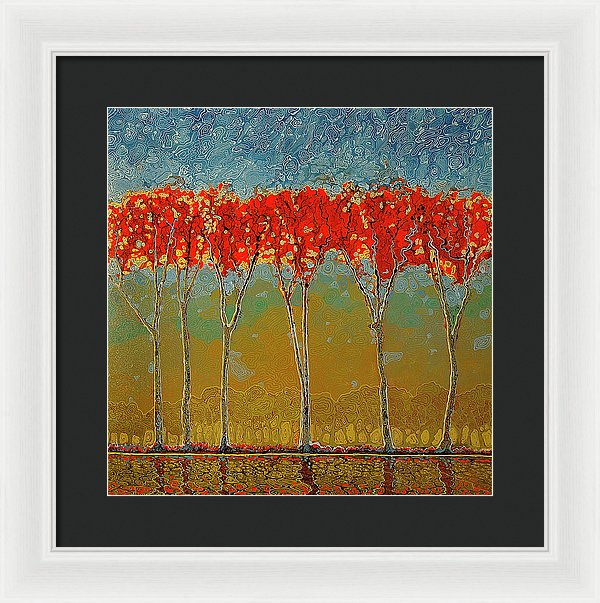 Electric Fall - Framed Print