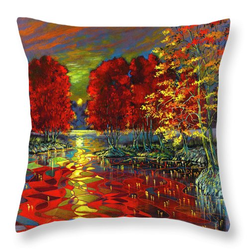Floating Ideas - Throw Pillow