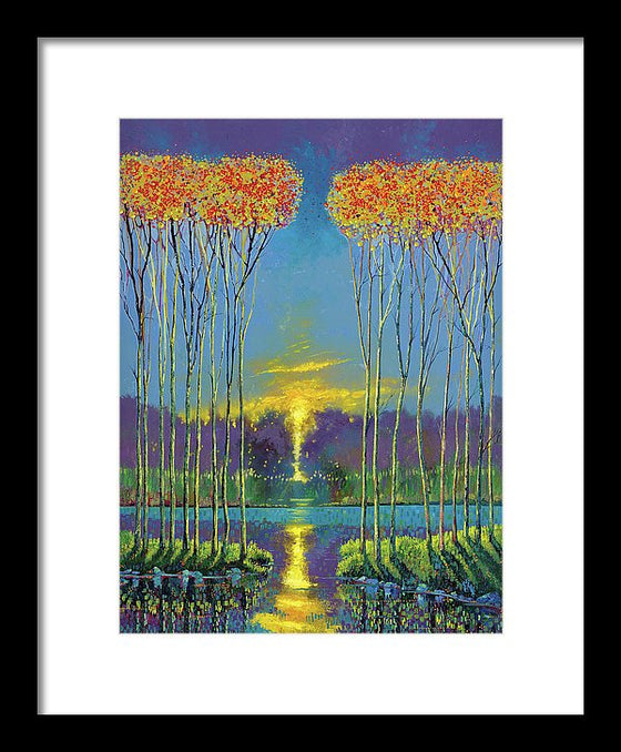Glimmer Of Hope - Framed Print