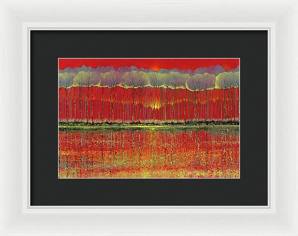 Gossamer Shift - Framed Print