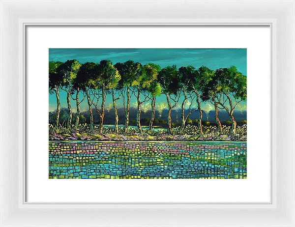Grace Of May - Framed Print