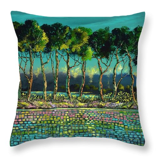Grace Of May - Throw Pillow