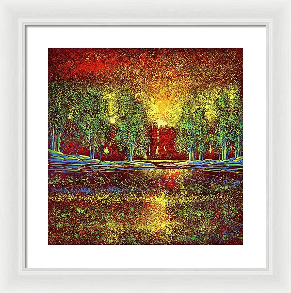 Happy Commotion - Framed Print